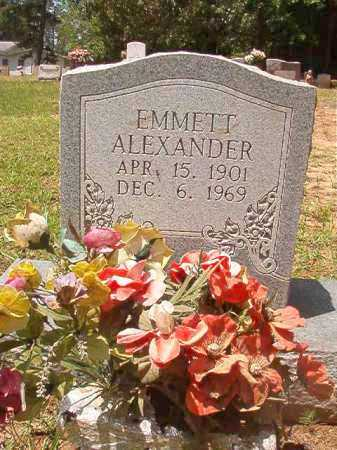 ALEXANDER, EMMETT - Columbia County, Arkansas | EMMETT ALEXANDER - Arkansas Gravestone Photos