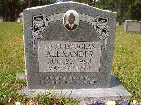 ALEXANDER, FRED DOUGLAS - Columbia County, Arkansas | FRED DOUGLAS ALEXANDER - Arkansas Gravestone Photos