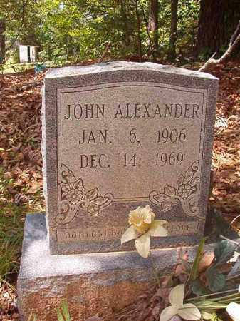 ALEXANDER, JOHN - Columbia County, Arkansas | JOHN ALEXANDER - Arkansas Gravestone Photos