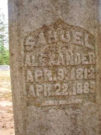 ALEXANDER, SAMUEL - Columbia County, Arkansas | SAMUEL ALEXANDER - Arkansas Gravestone Photos