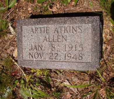 ALLEN, ARTIE - Columbia County, Arkansas | ARTIE ALLEN - Arkansas Gravestone Photos