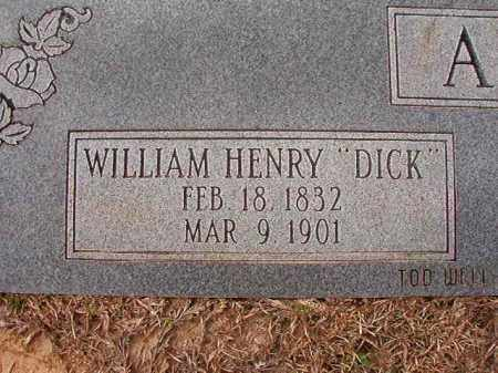 "ALLEN, WILLIAM HENRY ""DICK"" - Columbia County, Arkansas 