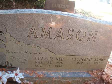 AMASON, CHARLIE NED - Columbia County, Arkansas | CHARLIE NED AMASON - Arkansas Gravestone Photos