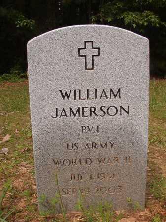 JAMERSON (VETERAN WWII), WILLIAM - Columbia County, Arkansas | WILLIAM JAMERSON (VETERAN WWII) - Arkansas Gravestone Photos