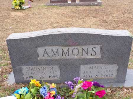 AMMONS, MARVIN N - Columbia County, Arkansas | MARVIN N AMMONS - Arkansas Gravestone Photos