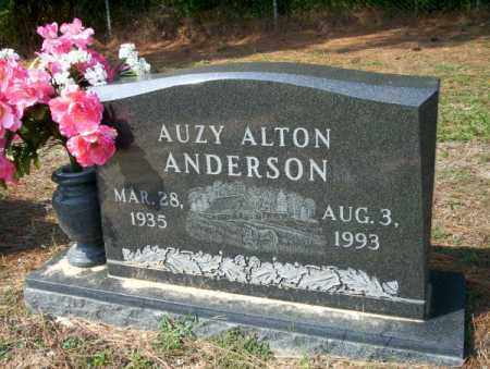 ANDERSON, AUZY ALTON - Columbia County, Arkansas | AUZY ALTON ANDERSON - Arkansas Gravestone Photos