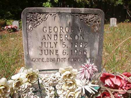 ANDERSON, GEORGE W - Columbia County, Arkansas | GEORGE W ANDERSON - Arkansas Gravestone Photos