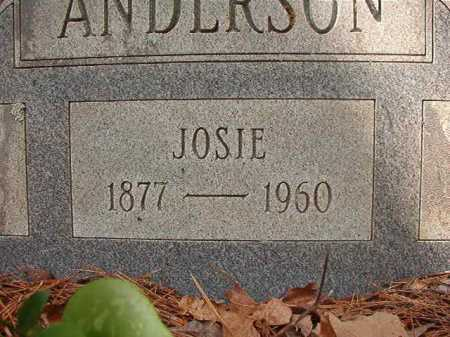 ANDERSON, JOSIE - Columbia County, Arkansas | JOSIE ANDERSON - Arkansas Gravestone Photos