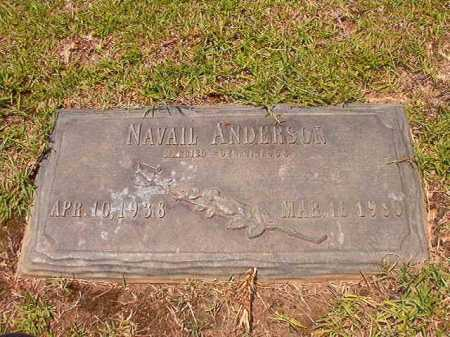 ANDERSON, NAVAIL - Columbia County, Arkansas | NAVAIL ANDERSON - Arkansas Gravestone Photos