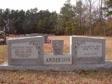 "ANDERSON, QUENTIN ""ANDY"" - Columbia County, Arkansas 