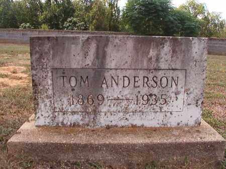 ANDERSON, TOM - Columbia County, Arkansas | TOM ANDERSON - Arkansas Gravestone Photos