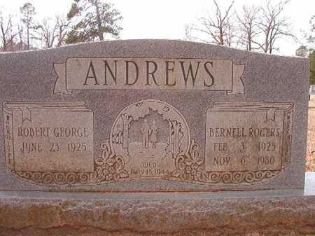 ROGERS ANDREWS, BURNELL - Columbia County, Arkansas | BURNELL ROGERS ANDREWS - Arkansas Gravestone Photos