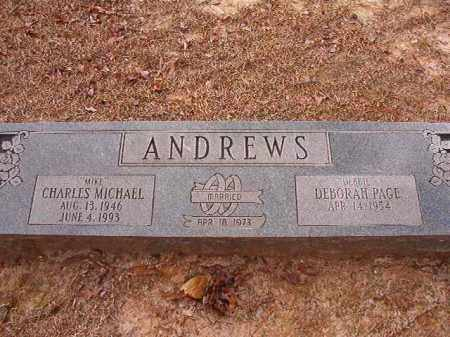 ANDREWS, CHARLES MICHAEL - Columbia County, Arkansas | CHARLES MICHAEL ANDREWS - Arkansas Gravestone Photos