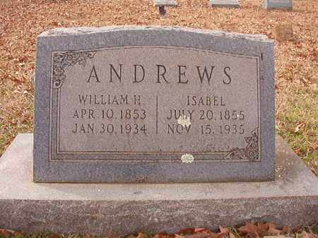 ANDREWS, ISABEL - Columbia County, Arkansas | ISABEL ANDREWS - Arkansas Gravestone Photos
