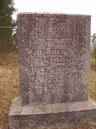 ANGLIN, HOLLIE J - Columbia County, Arkansas | HOLLIE J ANGLIN - Arkansas Gravestone Photos