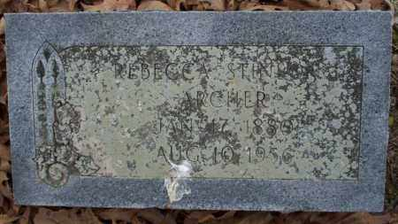 STINSON ARCHER, REBECCA - Columbia County, Arkansas | REBECCA STINSON ARCHER - Arkansas Gravestone Photos