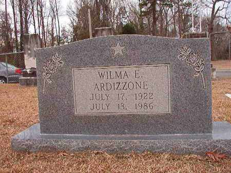 ARDIZZONE, WILMA E - Columbia County, Arkansas | WILMA E ARDIZZONE - Arkansas Gravestone Photos