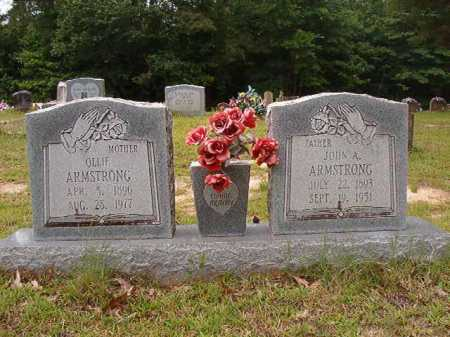 ARMSTRONG, JOHN A - Columbia County, Arkansas | JOHN A ARMSTRONG - Arkansas Gravestone Photos