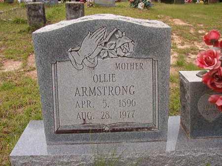 ARMSTRONG, OLLIE - Columbia County, Arkansas | OLLIE ARMSTRONG - Arkansas Gravestone Photos