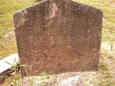 ARMSTRONG, VINNIE FERGUSON - Columbia County, Arkansas | VINNIE FERGUSON ARMSTRONG - Arkansas Gravestone Photos