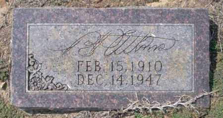 ATKINS, B - Columbia County, Arkansas | B ATKINS - Arkansas Gravestone Photos