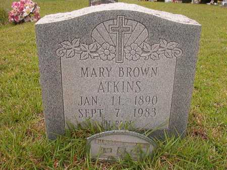 ATKINS, MARY - Columbia County, Arkansas | MARY ATKINS - Arkansas Gravestone Photos