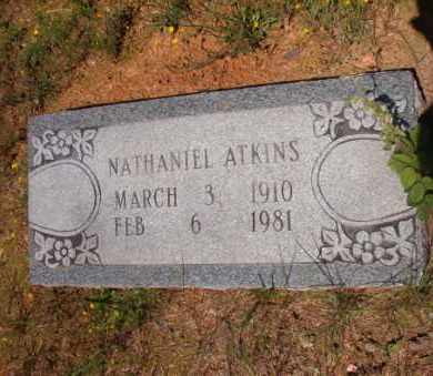 ATKINS, NATHANIEL - Columbia County, Arkansas | NATHANIEL ATKINS - Arkansas Gravestone Photos