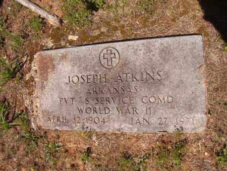 ATKINS (VETEAN WWII), JOSEPH - Columbia County, Arkansas | JOSEPH ATKINS (VETEAN WWII) - Arkansas Gravestone Photos