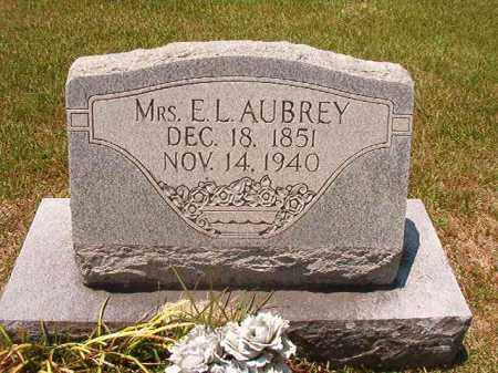 AUBREY, MRS, E L - Columbia County, Arkansas | E L AUBREY, MRS - Arkansas Gravestone Photos