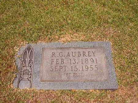 AUBREY, R G - Columbia County, Arkansas | R G AUBREY - Arkansas Gravestone Photos