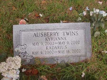 AUSBERRY, KYRIANNA - Columbia County, Arkansas | KYRIANNA AUSBERRY - Arkansas Gravestone Photos