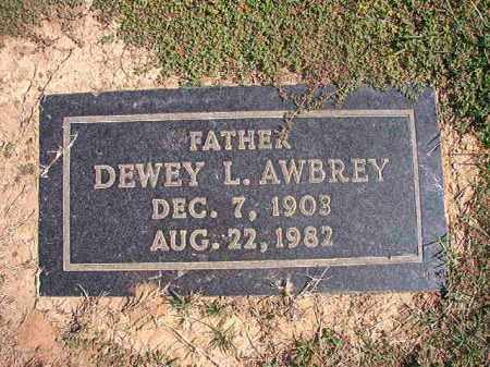 AWBREY, DEWEY L - Columbia County, Arkansas | DEWEY L AWBREY - Arkansas Gravestone Photos