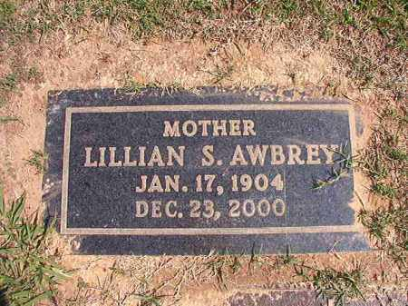 AWBREY, LILLIAN S - Columbia County, Arkansas | LILLIAN S AWBREY - Arkansas Gravestone Photos