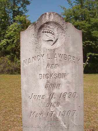 DICKSON AWBREY, NANCY L - Columbia County, Arkansas | NANCY L DICKSON AWBREY - Arkansas Gravestone Photos