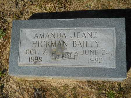 BAILEY, AMANDA JEANE - Columbia County, Arkansas | AMANDA JEANE BAILEY - Arkansas Gravestone Photos