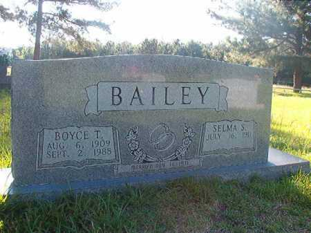 BAILEY, SELMA S - Columbia County, Arkansas | SELMA S BAILEY - Arkansas Gravestone Photos