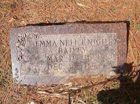 KNIGHT BAILEY, EMMA NELL - Columbia County, Arkansas | EMMA NELL KNIGHT BAILEY - Arkansas Gravestone Photos