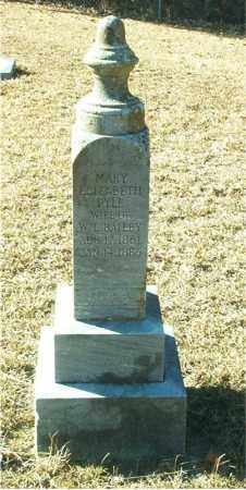 PYLE BAILEY, MARY ELIZABETH - Columbia County, Arkansas | MARY ELIZABETH PYLE BAILEY - Arkansas Gravestone Photos