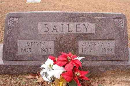 BAILEY, MELVIN - Columbia County, Arkansas | MELVIN BAILEY - Arkansas Gravestone Photos