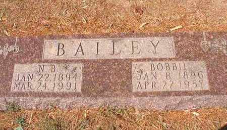 BAILEY, BOBBIE - Columbia County, Arkansas | BOBBIE BAILEY - Arkansas Gravestone Photos