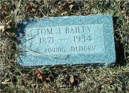 BAILEY, TOM J. - Columbia County, Arkansas | TOM J. BAILEY - Arkansas Gravestone Photos