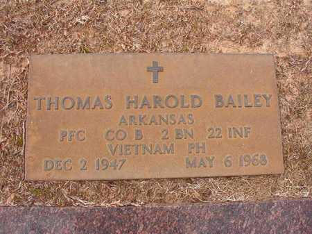 BAILEY (VETERAN VIET KIA), THOMAS HAROLD - Columbia County, Arkansas | THOMAS HAROLD BAILEY (VETERAN VIET KIA) - Arkansas Gravestone Photos