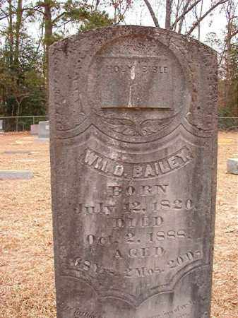 BAILEY, WILLIAM D - Columbia County, Arkansas | WILLIAM D BAILEY - Arkansas Gravestone Photos