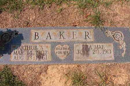 BAKER, ARTHUR S - Columbia County, Arkansas | ARTHUR S BAKER - Arkansas Gravestone Photos