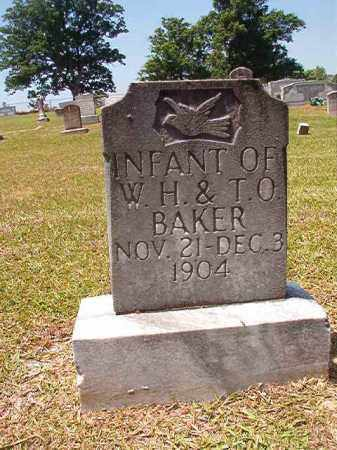 BAKER, INFANT - Columbia County, Arkansas | INFANT BAKER - Arkansas Gravestone Photos