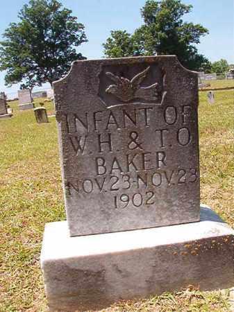 BAKER, INFANT - Columbia County, Arkansas | INFANT BAKER - Arkansas Gravestone Photos