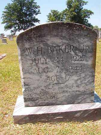 BAKER, JR, W H - Columbia County, Arkansas | W H BAKER, JR - Arkansas Gravestone Photos