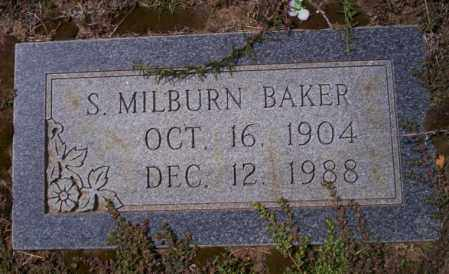 BAKER, S. MILBURN - Columbia County, Arkansas | S. MILBURN BAKER - Arkansas Gravestone Photos