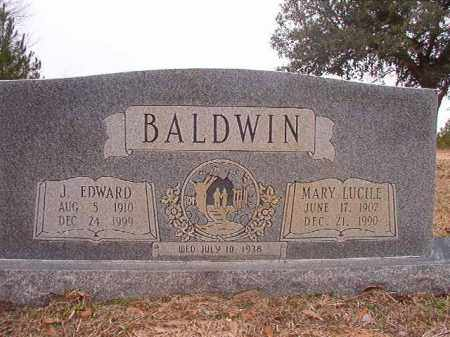 BALDWIN, MARY LUCILE - Columbia County, Arkansas | MARY LUCILE BALDWIN - Arkansas Gravestone Photos