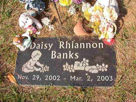 BANKS, DAISY RHIANNON - Columbia County, Arkansas | DAISY RHIANNON BANKS - Arkansas Gravestone Photos